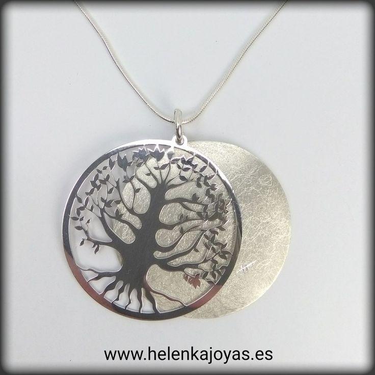 Colgante de plata de ley con forma de árbol de la vida\\n\\n24/01/2017 13:29