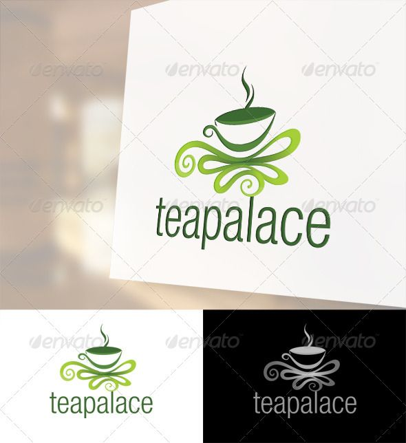 Tea Palace Logo Template  #industry #template #colorful • Click here to download ! http://graphicriver.net/item/tea-palace-logo-template/2439988?ref=pxcr