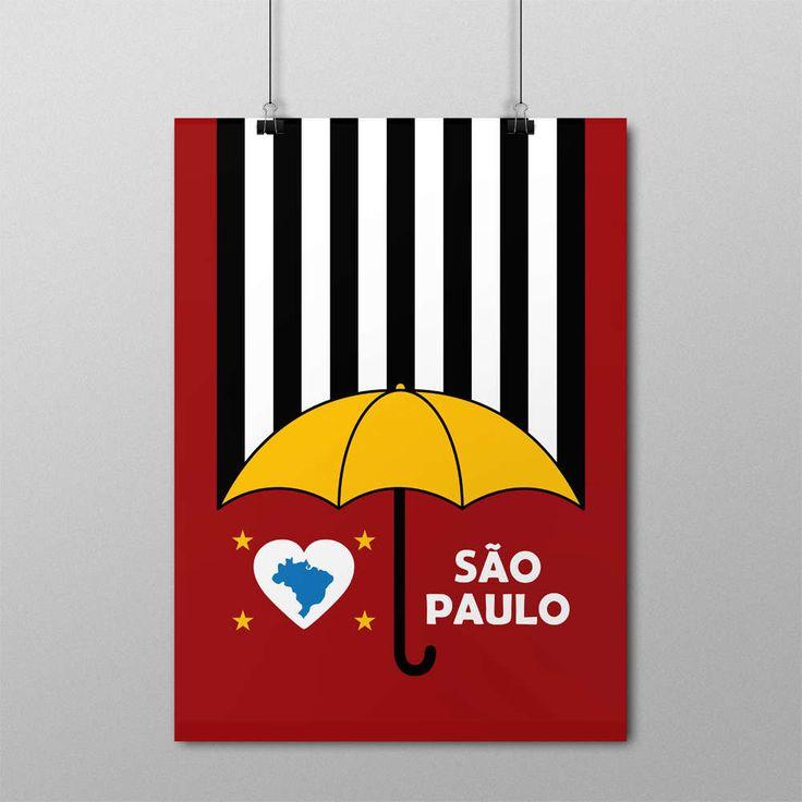 Pôster I Love São Paulo