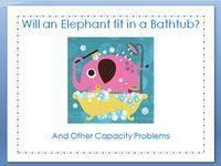Awesome blog entry from Kindergarten Kindergarten about measuring capacity in Kindergarten.