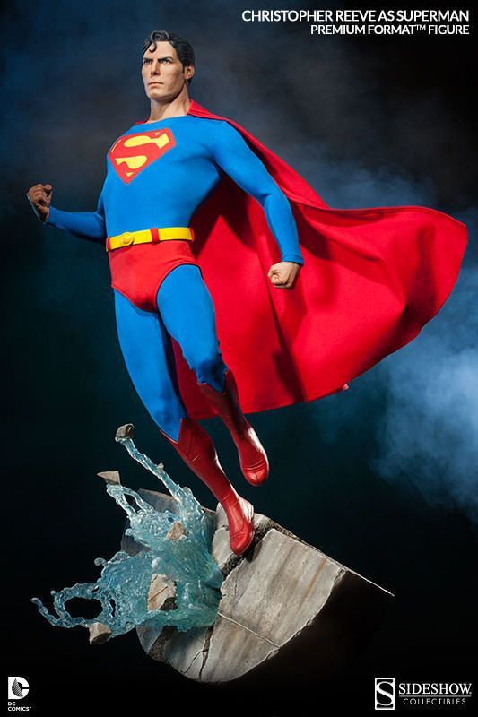 #Superman Christopher Reeve Premium Format Figure Details http://www.toyhypeusa.com/2014/03/04/superman-christopher-reeve-premium-format-figure-details/