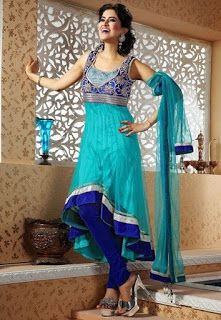 Slimming Silhouettes in Indian Wear