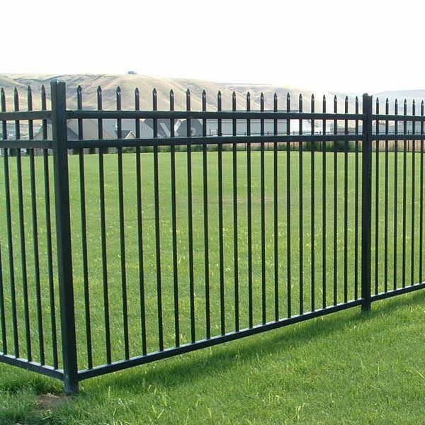 Powder Coated Steel Fence Panels Di 2020