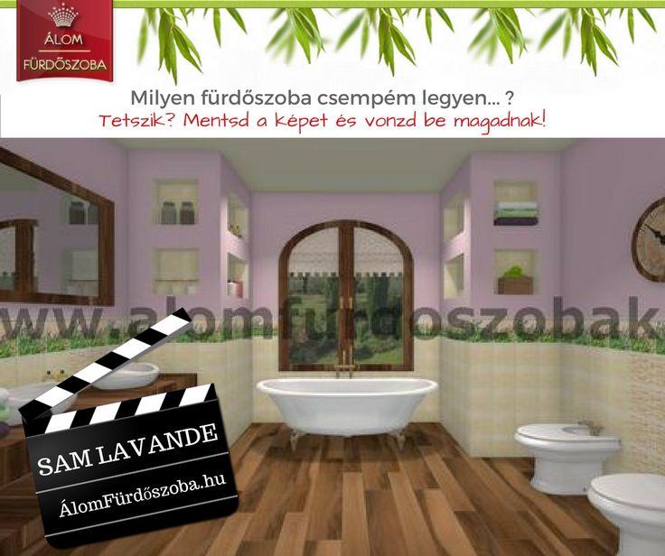 ♥ SAM. LAVANDE kollekció ♥  Bomba jó áron, gyors szállítással☺ Bemutatótermünkben megtekinthető. http://alomfurdoszobak.hu/hu/188-domino-samaria-konyha-csempe