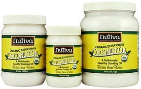 Nutiva Coconut Oil recommended to help with losing weight; A couple of tablespoons of this will speed up your metabolism. I like to put tablespoon in my tea..