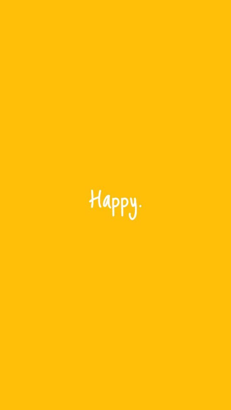Yellow minimalist wallpaper #yellow #minimalist #wallpaper ...