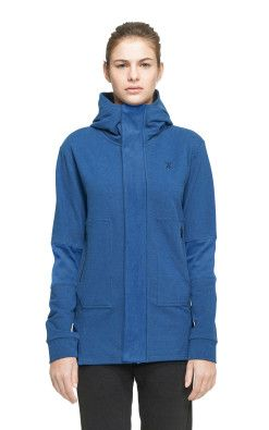 Onepiece Leap Zip Hoodie Bleu Nuit Chine