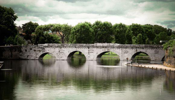 bridge at rimini