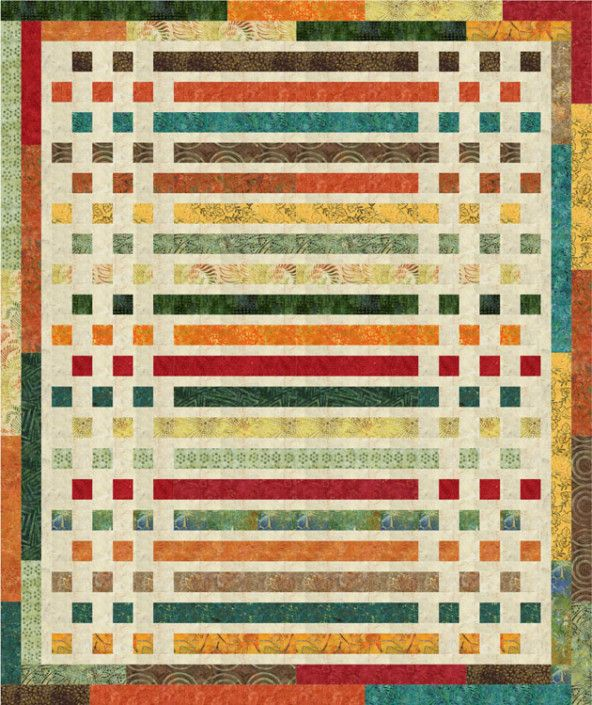 sharing this with friends.  Morse Code Quilt - uses jelly rolls (free pattern by Timeless Treasures)