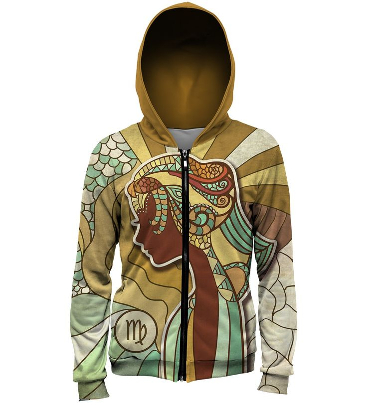 Virgo hoodie, Mr. GUGU & Miss GO
