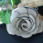 Kun kr. 139,- Rosen clutch: Fancy Occasions, Kun Kr, Flower Clutch This