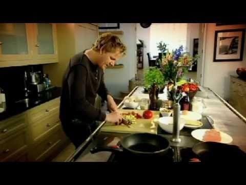 Veal Escalope with Caponata - Gordon Ramsay - YouTube  #EasyFreshCooking