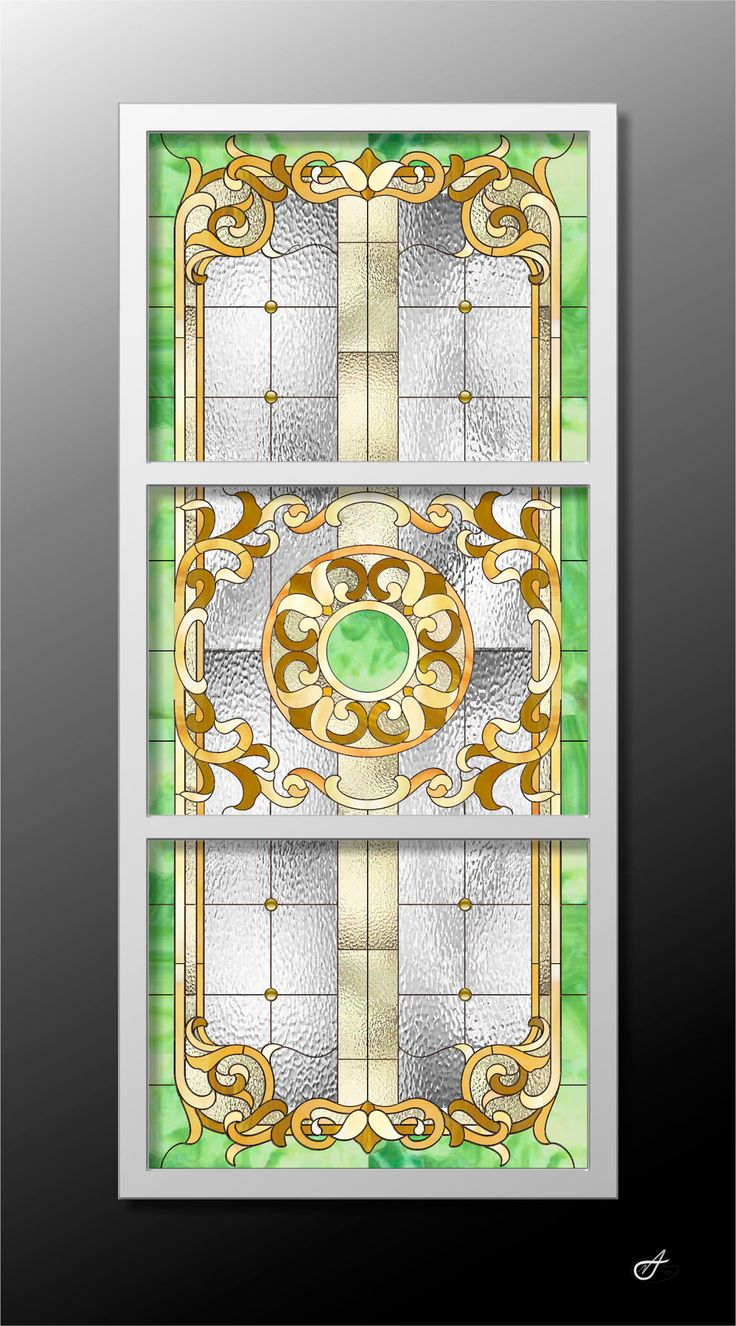 Behance :: Editing Stained glass ceiling in the recreation area.