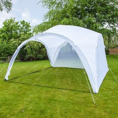 Get the party started in our brilliant Event Shelter Gazebo, perfect for a party in this lovely Spring warmth!