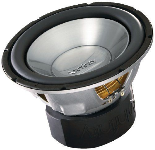 Infinity Reference 1060w 10-Inch 1100-watt High-Performance Subwoofer (Single Voice Coil) by Infinity. $48.47. Amazon.com Product Description                Infinity's 1060W 10-inch Single Voice Coil Subwoofer with dual stack magnet and hi-roll rubber surround is a great choice for any sub enclosure.                 The Infinity Reference Series Infinity's Reference Series has been engineered to deliver best-in-class performance for those looking to replace or u...