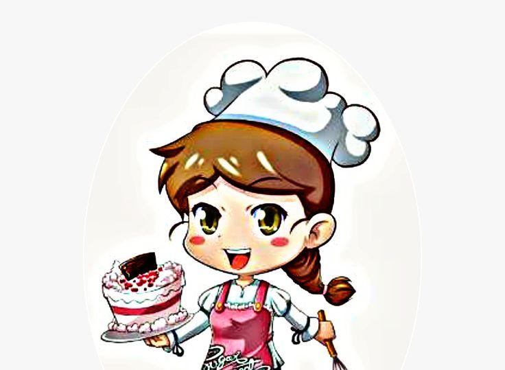 26 Gambar Kartun Koki Transparent Koki Png Gambar Koki Kartun Png Download Download Kartun Chef Mom Baking Cake Industry Kartun Hello Kitty Gambar Kartun