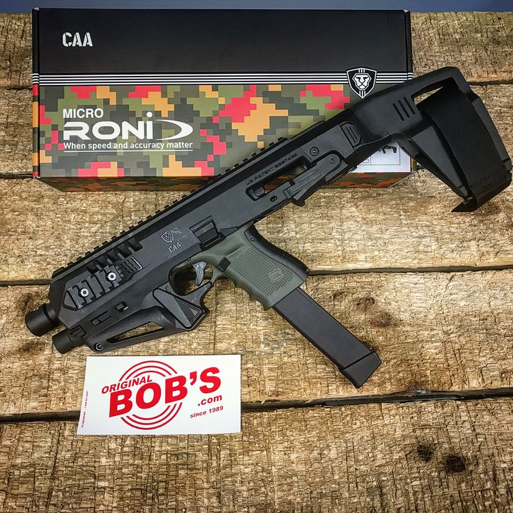 """166 Likes, 8 Comments - Original Bobs Shooting Range (@obguns) on Instagram: """"Here is a few more pictures of the newly in stock #caa Roni Micro. I remember years ago when the…"""""""