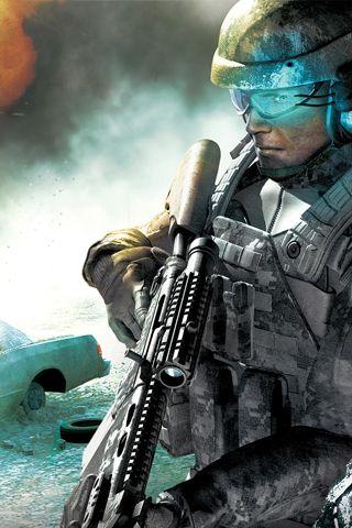 Battle Field Soldier Background