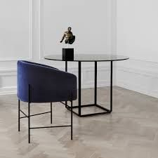 Covent is a confortable and contemporary chair designed by ARDE for New Works -  Florence Table by New Works