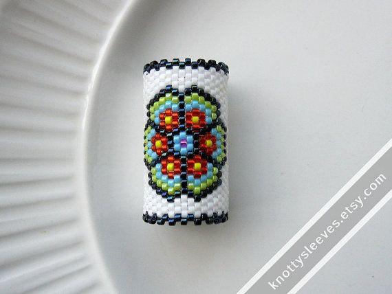 Dreadlock Bead  Peyote Stitch Dread Sleeve  by knottysleeves, $28.00