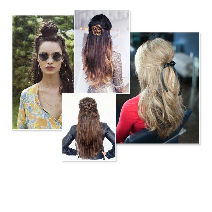 Cette année, la mode est aux demi-coiffures : half bun, demi-queue-de-cheval… Mais comment bien les porter ? Voici notre sélection depuis Pinterest.