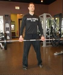 Dead lifts can be a total body workout, if done correctly.