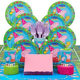 Peppa Pig Party Supplies, Decorations and Ideas | WholesalePartySupplies.com