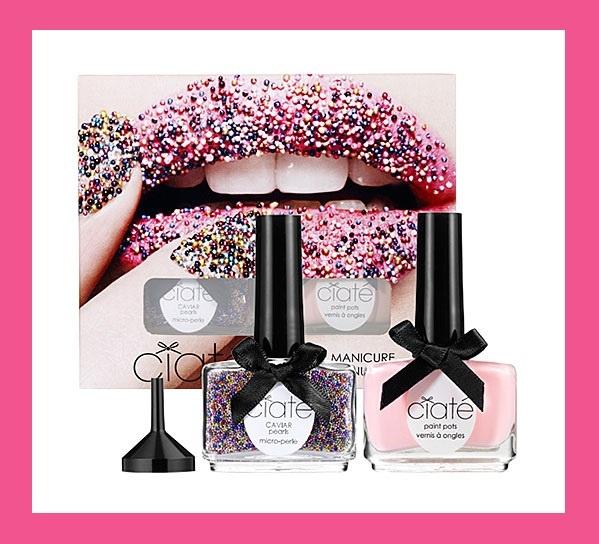 Ciate Caviar Manicure Rainbow Nail Polish Kit By C