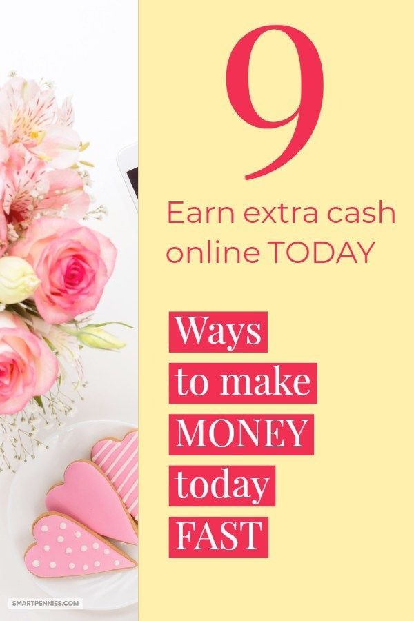 9 Fast ways to make money from home online – Pinterest Ninjas Group Board