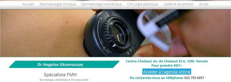 Η All about Business ολοκλήρωσε την ιστοσελίδα http://www.dermatologueversoix.ch/fr/ , με τη χρήση των τελευταίων τεχνολογιών web και με πρότυπες εικαστικές ιδέες που σχεδιάσε το design center της. Δείτε δείγματα εργασιών μας εδώ http://www.allaboutbusiness.gr/%CE%B4%CE%B5%CE%AF%CE%B3%CE%BC%CE%B1%CF%84%CE%B1-%CE%B5%CF%81%CE%B3%CE%B1%CF%83%CE%AF%CE%B1%CF%82.html