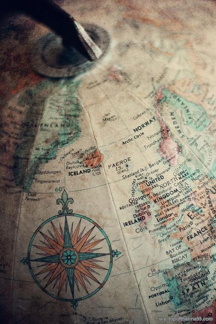 Love globes and maps.
