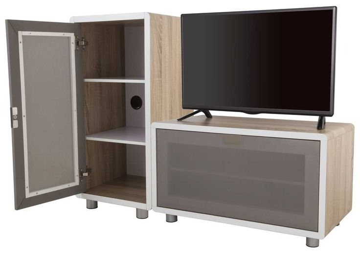 Really flexible options with this AVF Connect Whitewashed Oak Modular TV Stand - 2 Units  £299.99 from The Plasma Centre (01-Mar-15)