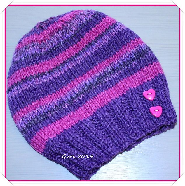 Ravelry: Guri`s simple hat for children pattern by Guri Østereng Halvorsen