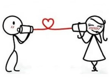 mensajitos de amor  ❥Teresa Restegui http://www.pinterest.com/teretegui/❥