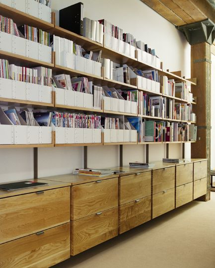 Atlas Industries: Gallery the as4 modular furniture system Resource library  in a design office with