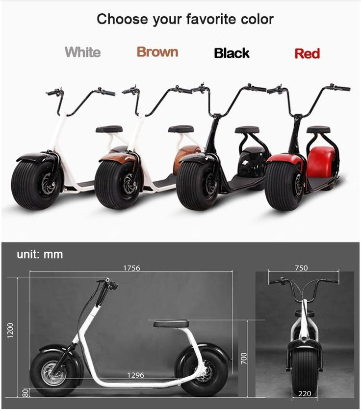 1000W Motor electric scooter