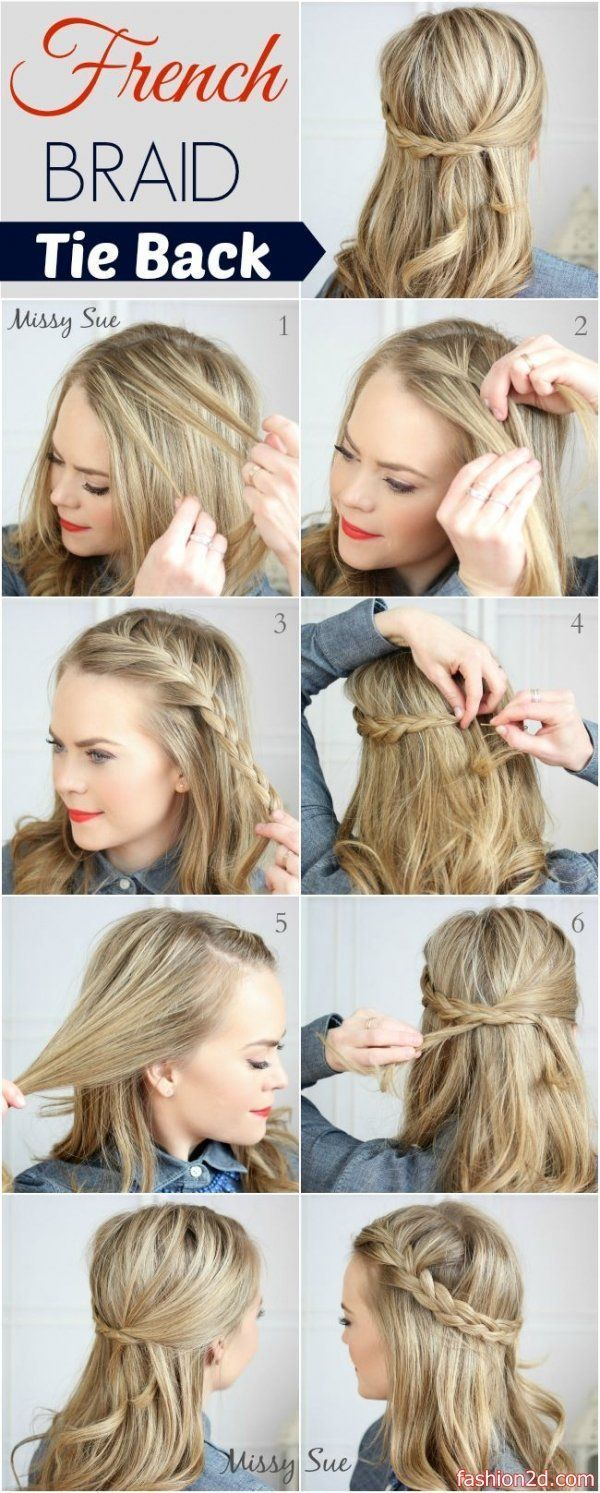 Straight Hair Styles Exciting Hair Styles Designed For Straight Hair Like The 1 2 Up Pony Tails Side Ba Long Hair Styles Hair Styles Braids For Long Hair