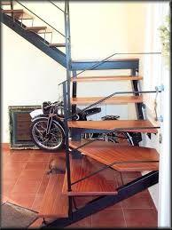 55 best escaleras metal madera images on pinterest for Escaleras metalicas para interiores