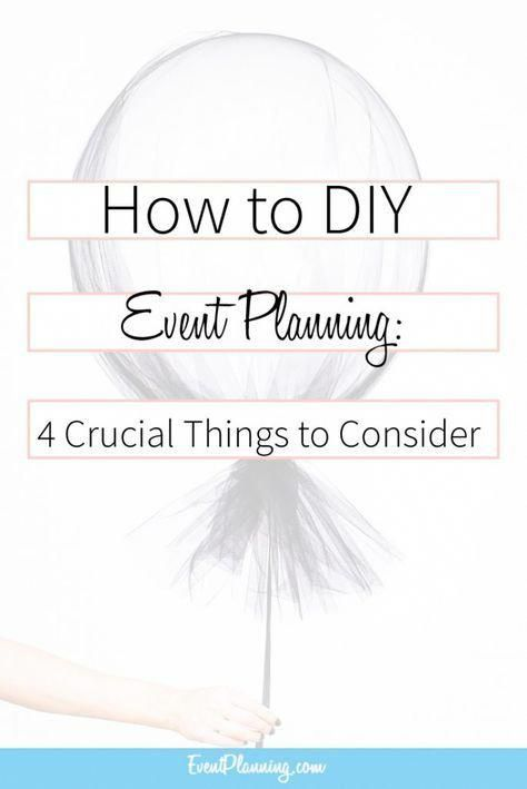 How to DIY Event Planning / Event Planning Business / Event Planning - Event Plan Template