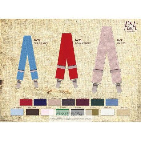 #tirante liso con pinza disponible en varios colores. #complementos #trajesdecorto #Fuengirola
