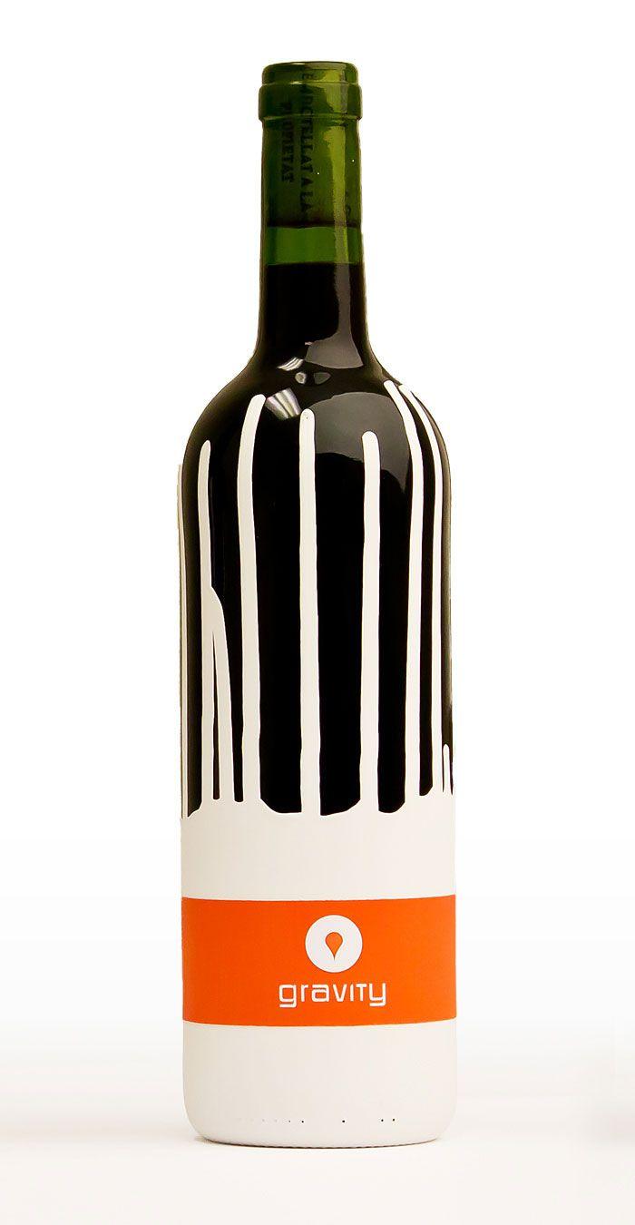 Gravity: Wine Packaging, Wine Labels, Wine Design, Packaging Design, Art Design, Student Work, Gravity Wine, Wine Bottle, Bottle Design