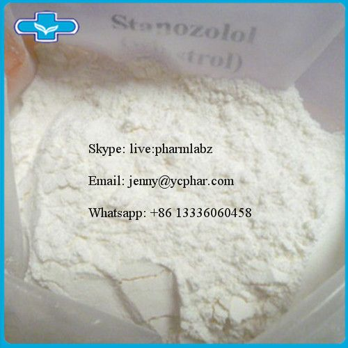 CAS 10418-03-8 Stanozolol  Product Name:Stanozolol,Winstrol Alias:Stanol,Qikanggubao,Stromba,Zambon,Androstanazol,Winny CAS Registry Number:10418-03-8 EINECS: 233-894-8 Assay: 99% Molecular Formula:C21H32N2O Molecular Weight:328.49 Appearance: White or almost white crystalline powder Grade:Pharmaceutical Grade Detection Time: 3 weeks (oral) to 9 weeks (injectable)  Effective Dose(men): 50-100mgs/day  Effective Dose (women): 2.5-10mgs/day