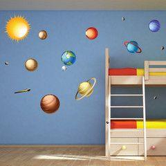 Solar System Wall Decals - WallsNeedLove
