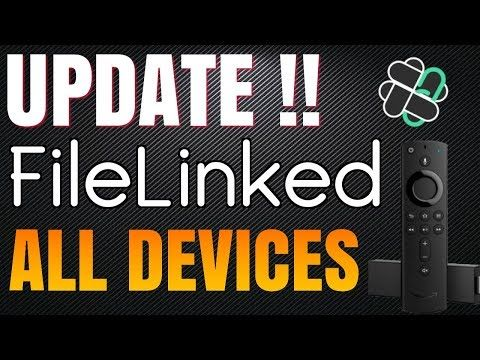 FileLinked Update - Fix Firestick & install on Fire TV Stick