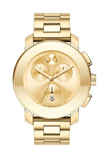 Love this one...   Movado 'Bold Chronograph' Bracelet Watch available at #Nordstrom