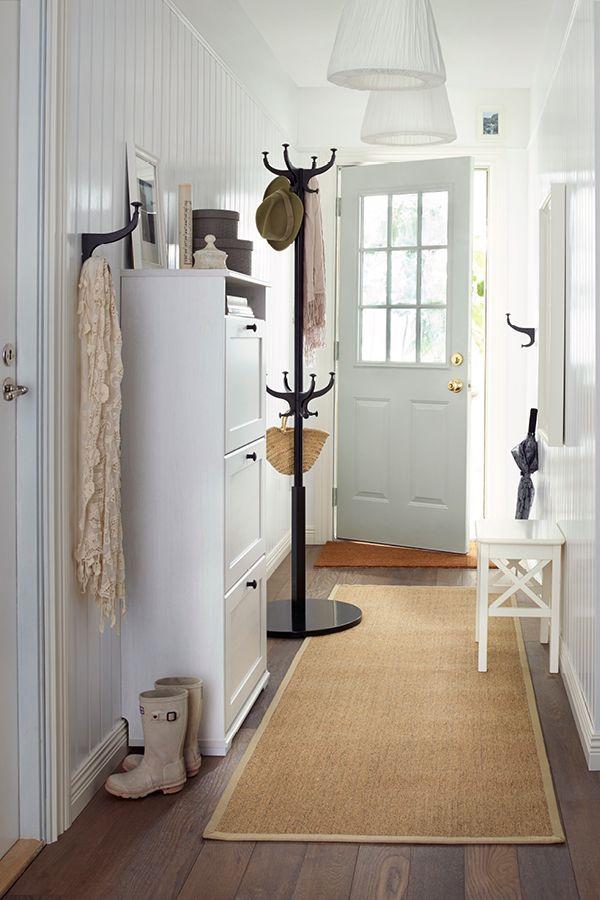 8 besten vorhaus bilder auf pinterest deko ideen flur for Quelle couleur pour un couloir sans fenetre