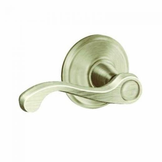 Schlage Lock Company Co F10v Fla 619 Flair Pass Lockset Satin Nickel F10vfla619
