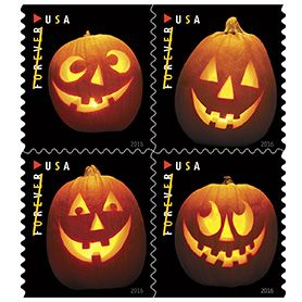 Jack O Lantern Stamps From The U
