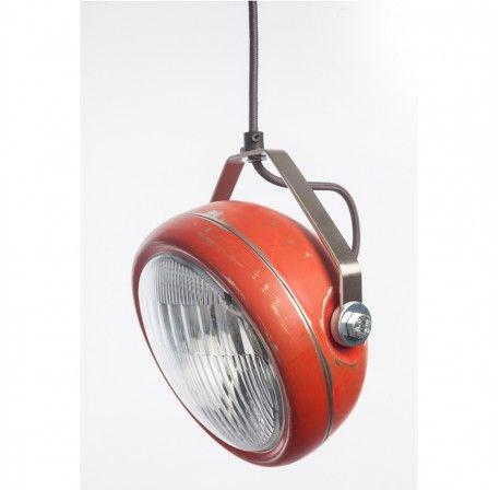 Hanglamp Het Lichtlab model No.5 rood