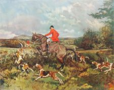 fox hunt anyone?: Picture-Black Posters, Posters Prints, Posters Art